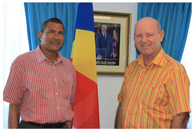 MEETING WITH HON DECOMMARMOND