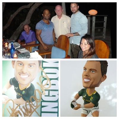 Kirschlee Nada Naidoo, Minister St.Ange and the South African Rugby Star Francois Hougaard