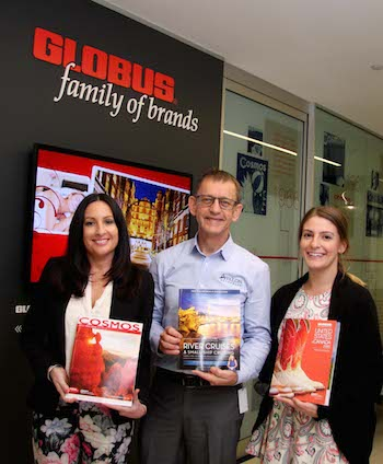 Photograph: New appointees at the Globus family of brands (from left): Sally Krantz (Area Sales Manager, Victoria South), Nigel Balm (Regional Sales Manager, Australia) and Linda Lopresti (Marketing Coordinator).