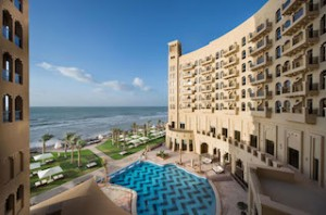 The Ajman Palace Hotel & Resort Aerial View Pool