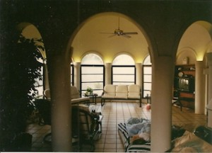 THE house's once luxury interior. (Janet Maples)
