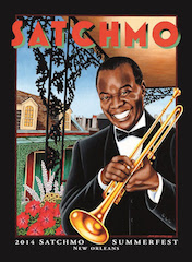2014 Satchmo SummerFest Official Poster