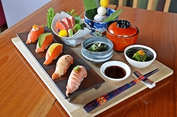 4 Days fabulous new Kaiseki Set Menus for Mom at YTSB during 8th - 12th August 2014