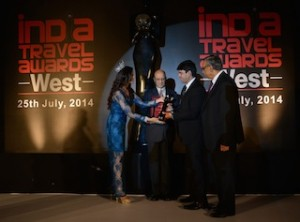 Abacus Best GDS Award WEST INDIA India Travel Awards