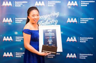 Accommodation Achiever Awards 2014 -Monica Singh, Novotel Melbourne on Collins - low res