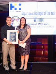 Accommodation Achiever Awards 2014 - Ronald Watson, Pullman and Mercure Melbourne Albert Park