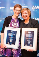 Accommodation Achiever Awards 2014 - Sofitel Sydney Wentworth's Sarah Riccord and Lilian Tolentino