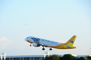 Cebu Pacific Aircraft (Credit - Cebu Pacific Air)