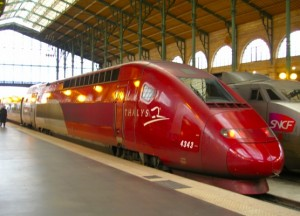 French high-speed rail