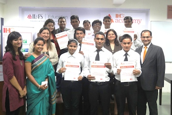 Inaugural Class of IHG Academy with IL&FS Graduate_Class Photo
