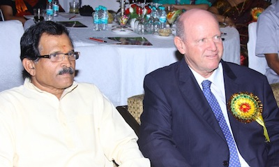 India I with Minister