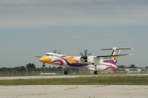 Nok Air First Q400 Takes Off From Toronto 2