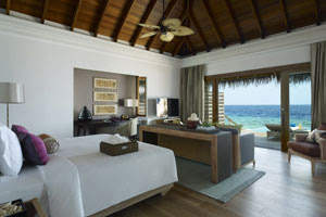 Ocean Villa room type at Dusit Thani Maldives