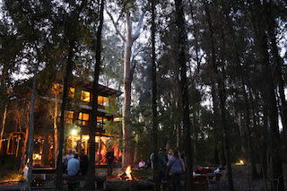 Paperbark Camp - group camp fire2