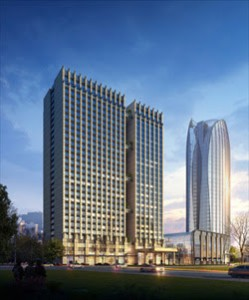 Perspective image of dusitD2 Suining, Sichuan