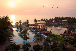 Spectacular views of Dusit Thani Hua Hin
