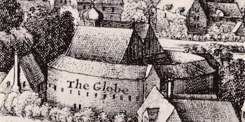 EARLY sketch of how the original Globe Theatre looked. (British Tourist Authority)