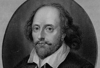 THE Bard himself from an early sketch. (WikiMedia)