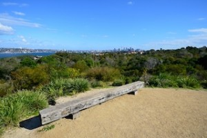 View from lookout mound, Georges Heights Oval, Mosman