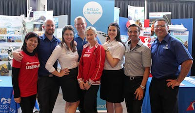 WLCL Crew at Newcastle's Biggest Cruise Sale