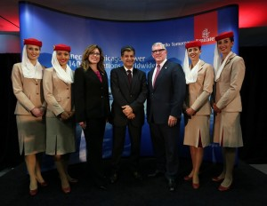 Emirates airline Chicago Route Launch