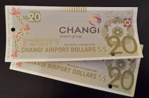 Changi Dollar Vouchers