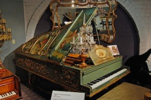 USA Las Vegas Liberace Museum 1885 Pleyel Art case grand piano