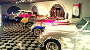SOME of Liberace's thirty other cars that ranged from a 1957 London cab to a    replica 1931 Model A Ford and a few Rollers…