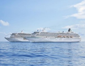 Crystal Cruises Crystal Symphony and Crystal Serenity