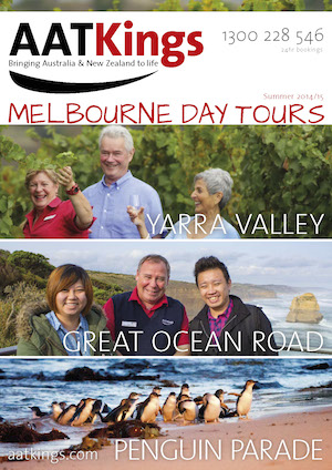 AAT Kings_Brochure Cover Melbourne Day Tours