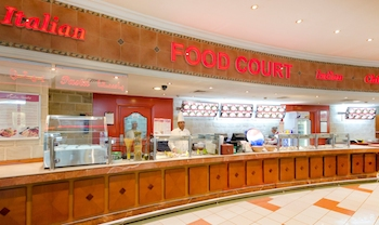 ABCR newly refurbished food court