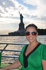 Avis Scholarship winner Anne Hobbs enjoys New York