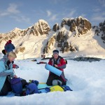 Credit Andrew Halsall - Setting up camp on the Antarctic Peninsula - Aurora Expeditions