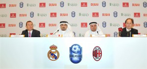 Emirates and DTCM announce Dubai Football Challenge 2014. Real Madrid V ...