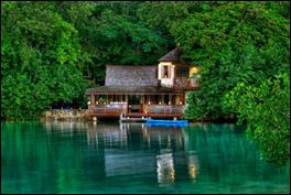 GoldenEye, located in Oracabessa Bay, on the north coast of Jamaica.