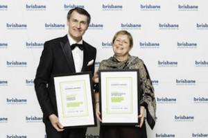Lord Mayor with Julieanne Alroe - 2014 business person of the year