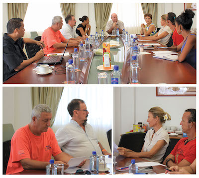 MEETING WITH DIVE OPERATORS