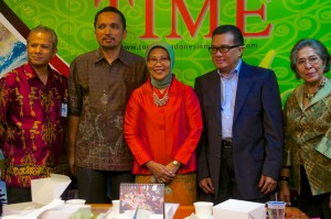Press Conference TIME 2014 Aceh 163.