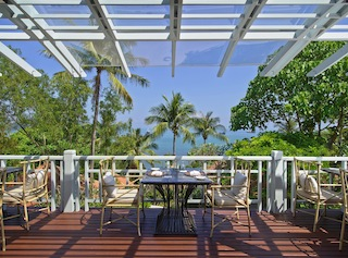 Regent Phuket Cape Panwa The Restaurant Outdoor tables