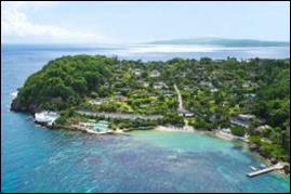 Round Hill, located along a private beach in beautiful Montego Bay.
