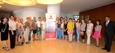 Russian tour operators at Al Bustan Centre and Residence