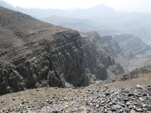 View from Jebel Al Jais, Ras Al Khaima