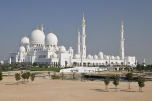 Sheikh Zayed Mosque in United Arab Emirates Abu Dhabi