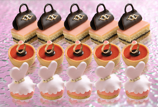 medium_PinkAfternoonTeaWithFashionShow_edible brand's signature items