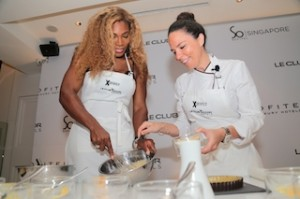 serena cooking