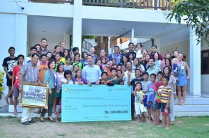 Intercontinental Bali Resort Sets New Milestone To Help Benefit The Local Community : Bali Life Foundation