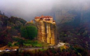 Greece meteora-monastery-withroad.wallpaperHD.rsz