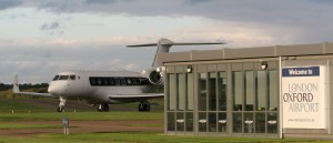 Gulfstream 650 on London Oxford Airport s runway