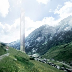 Proposal for Swiss skyscraper hotel