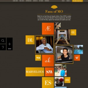 Mandarin Oriental Hotel Group Fans of MO Infographic